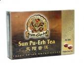 Sun Gold Pu-Erh Tea w kostkach 40szt